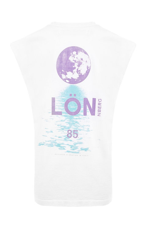 Tee-shirt Rio Imprimé Noir MARGAUX LONNBERG