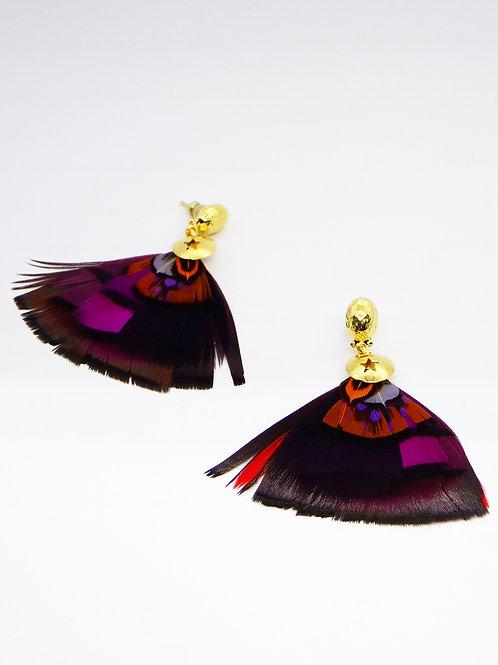 Boucles d'oreilles Bermudes or GAS bijoux
