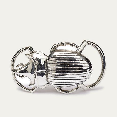 Boucle Beetle argent CLARIS VIROT