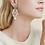 Thumbnail: Boucles d'oreilles Aicha petit modèle argent GAS bijoux