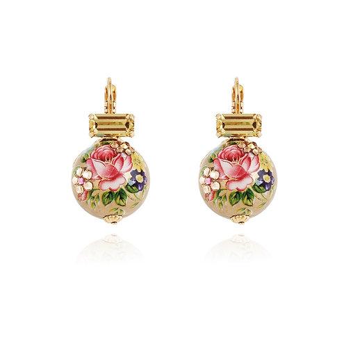 Boucles d'oreilles boules chinoises Gas bijoux