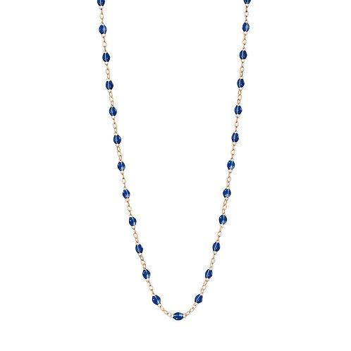 Collier Classique bleu de prusse Gigi Clozeau