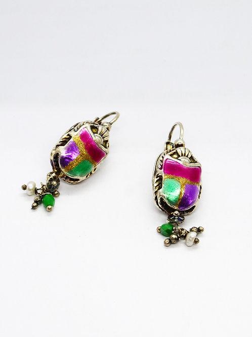 Boucles d'oreilles Scaramouche argent GAS bijoux