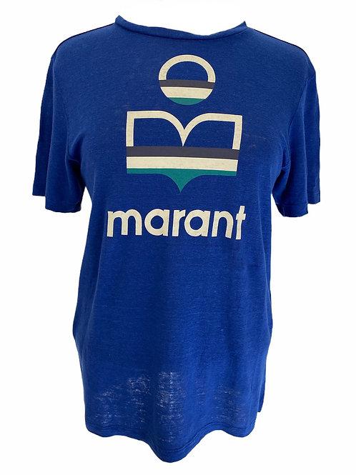 Teeshirt Zewel bleu électrique ISABEL MARANT ÉTOILE