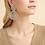 Thumbnail: Boucles d'oreilles Onde Gourmette argent GAS bijoux