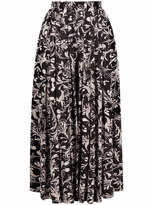 Jupe-culotte plissée à fleurs ISABEL MARANT ÉTOILE