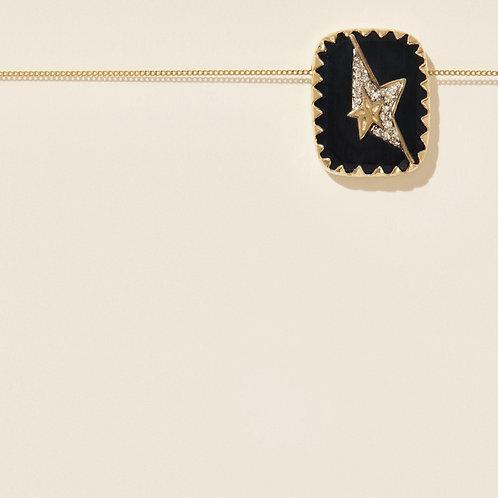Collier Varda Nº1 Noir Diamant PASCALE MONVOISIN
