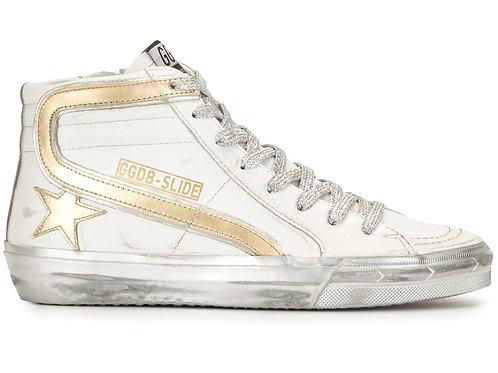 Sneakers SLIDE en cuir Golden Goose
