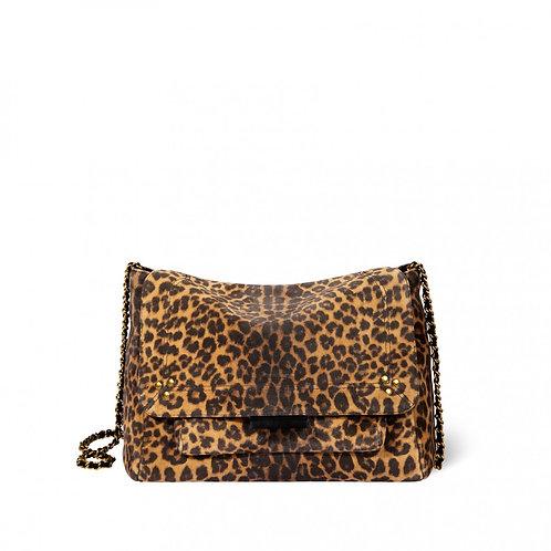 Lulu L Croute velours léopard chamois JÉRÔME DREYFUSS