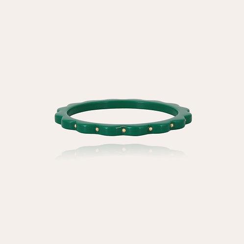 Bracelet Froufrou acétate or Vert GAS BIJOUX
