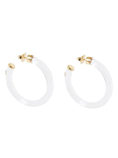 Boucles d'oreilles Caftan mini acétate or GAS BIJOUX