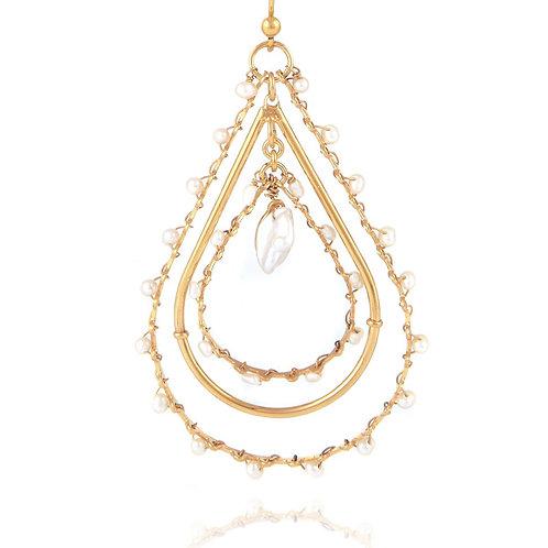 Boucles d'oreilles Orphée PM Gas bijoux