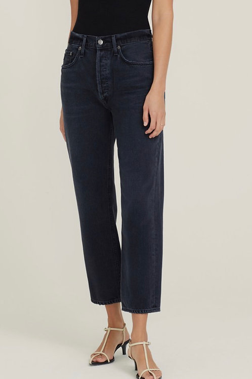 Lana Crop Mid Rise Vintage Staight In Rhyme  AGOLDE