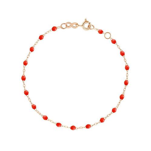 Bracelet or rose coloris Corail Gigi Clozeau