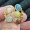 Thumbnail: Bague Duality multi serti Gas bijoux
