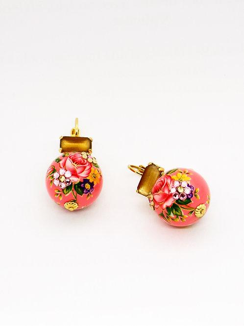 Boucles d'oreilles Boules Chinoises or GAS bijoux
