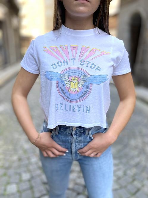 Teeshirt  Don't Stop Believin RECYCLED KARMA