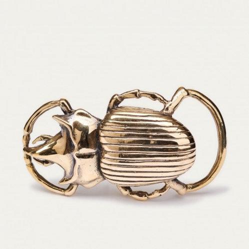 Boucle Beetle Dorée CLARIS VIROT