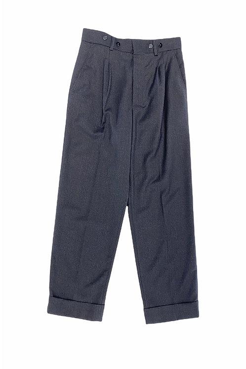 Pantalon en laine Bells Gris MARGAUX LONNBERG