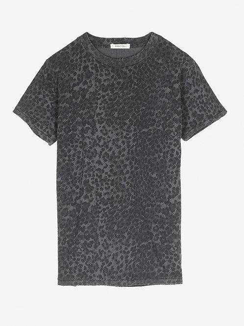 Teeshirt easy Vintage Anthracite Leopard RAGDOLL LA