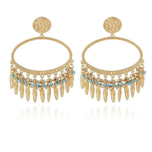 Boucles d'oreilles Fan Fan Pampilles Gas bijoux