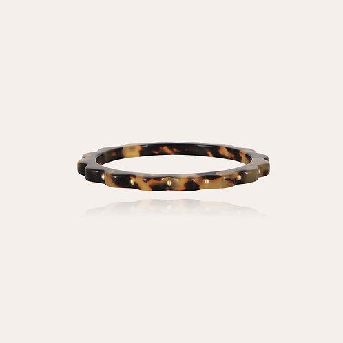 Bracelet Froufrou acétate or Écaille GAS BIJOUX