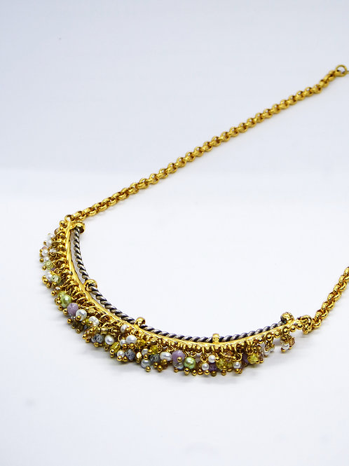 Collier Grappia or Gas bijoux