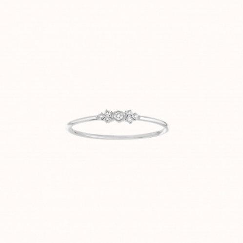 Monroe Bague Or Blanc et Diamants STONE PARIS