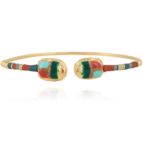 Bracelet Duality scarabée Gas bijoux