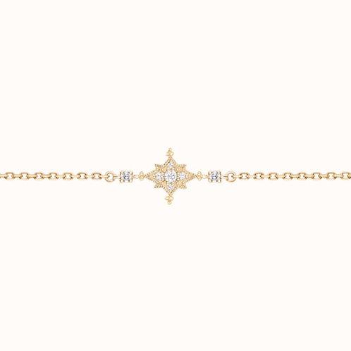 Stella bracelet Or Jaune et Diamants STONE PARIS