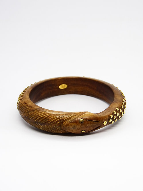 Bracelet Uroborus or GAS bijoux