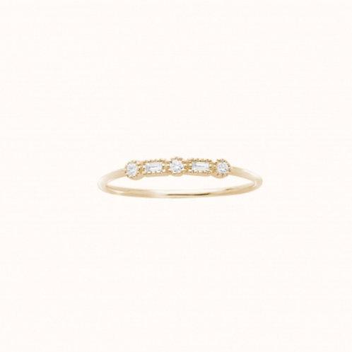 Serenity Bague Or Jaune et Diamants STONE PARIS