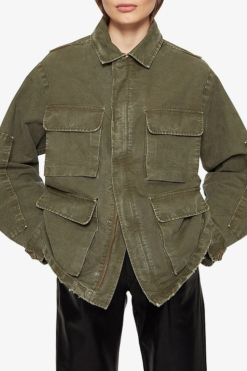 Veste militaire army green Joey Anine Bing