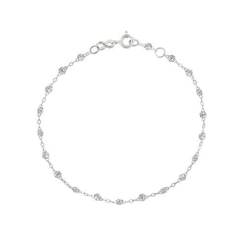 Bracelet sparkle Classique Gigi Clozeau or blanc 17 cm