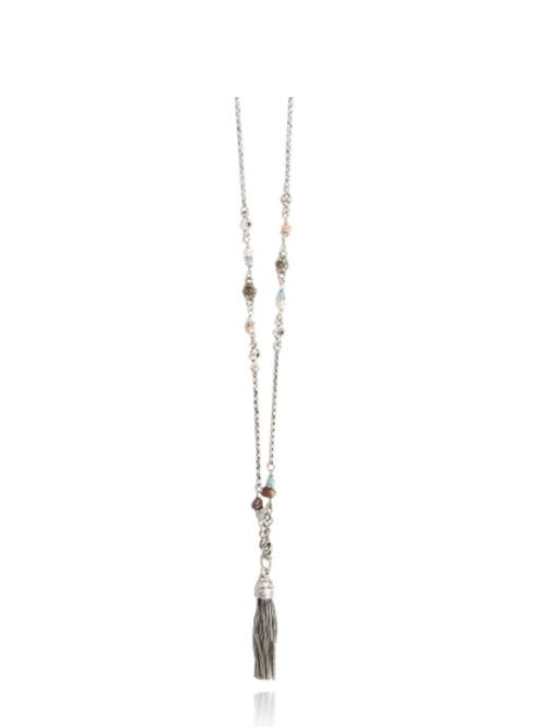 Sautoir Florette argent GAS bijoux