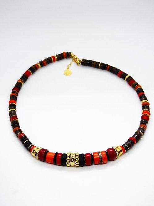 Collier Aloha or GAS bijoux