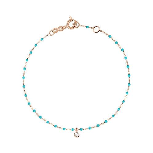 Bracelet turquoise vert Mini Gigi Diamant GIGI CLOZEAU