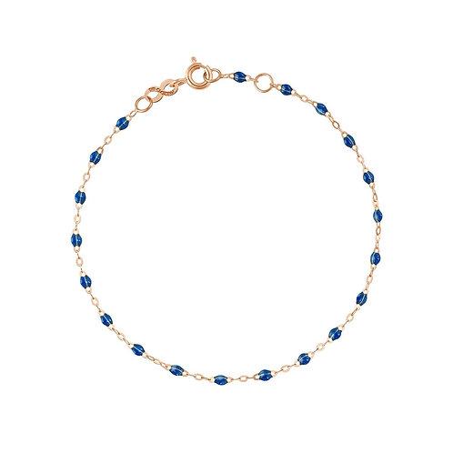 Bracelet saphir Classique Gigi Clozeau or rose 17 cm