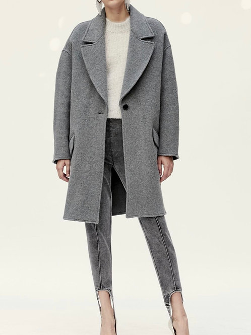 Manteau gris Fego Isabel Marant