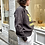 Thumbnail: Sweat Moby Yellow Faded  Black ISABEL MARANT ÉTOILE