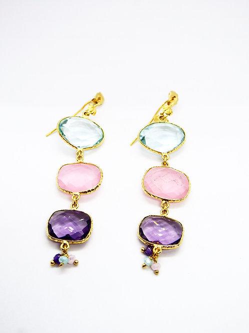 Boucles d'oreilles Silène or GAS bijoux