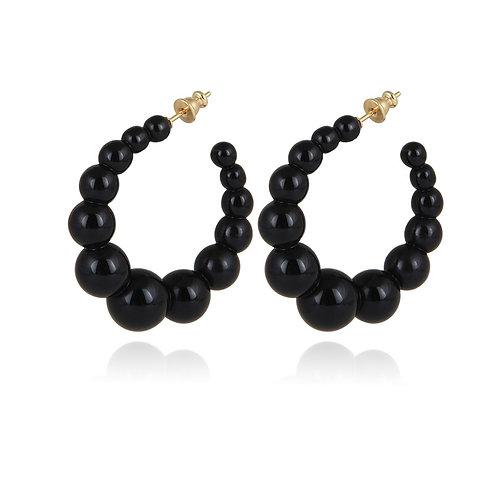 Boucles d'oreilles créoles Andy PM Gas bijoux
