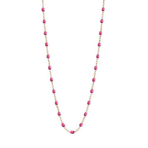 Collier Classique rose bonbon Gigi Clozeau