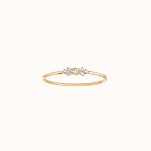 Monroe Bague Or Jaune et Diamants STONE PARIS