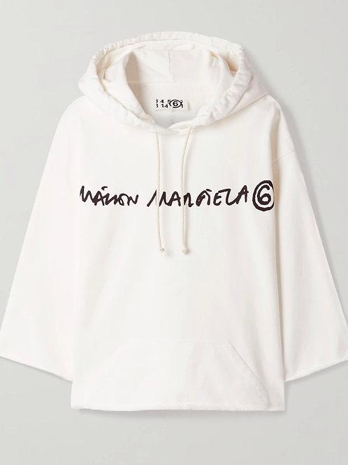 Sweat-shirt à capuche MM6 MAISON MARGIELA