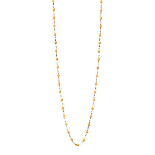 Sautoir mandarine Classique Gigi Clozeau or rose 86 cm