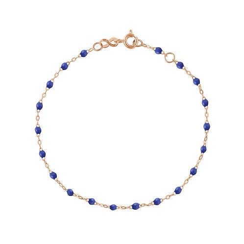 Bracelet bleuet Classique Gigi Clozeau or rose 17 cm