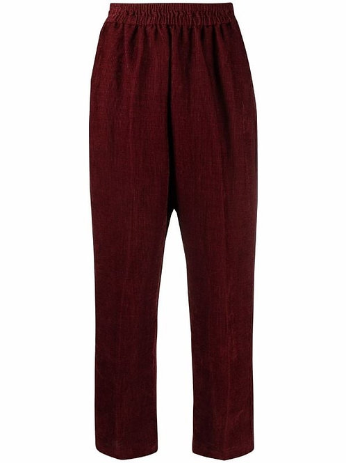 Pantalon à taille élastiquée FORTE FORTE