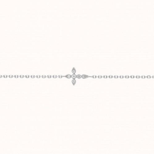 Céleste bracelet Or Blanc et Diamants STONE PARIS