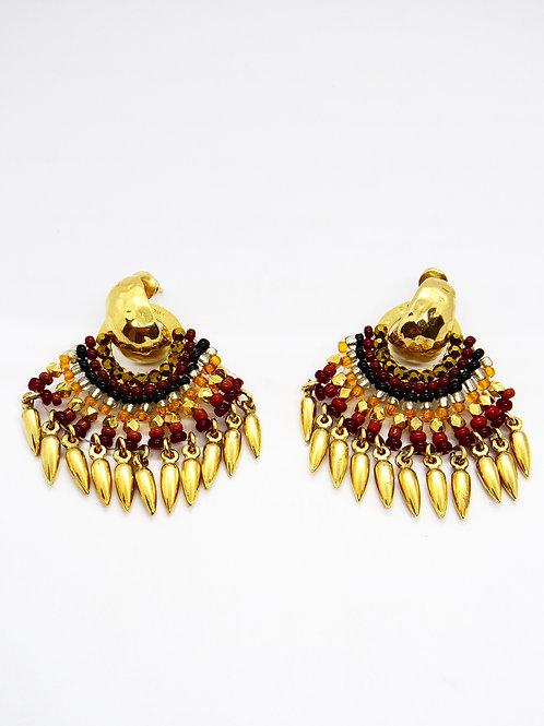Boucles d'oreilles Cadaques or GAS bijoux